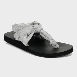 Women's Tashi Yoga Sling Thong Sandals - Gray